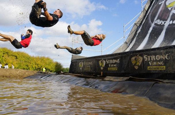 Viergang Strong viking water groepsles buiten rooster