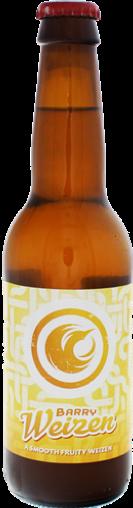 Viergang bier Barry Weizen speciale bieren