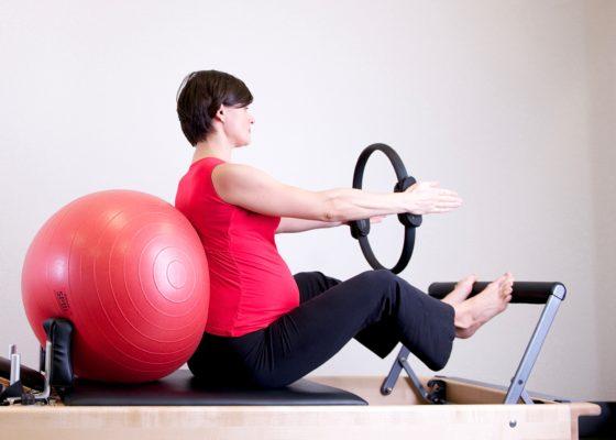 Viergang zwanger en fit