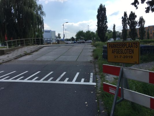 Viergang onderhoud aan brug
