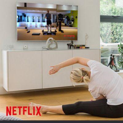 Viergang thuis Netflix